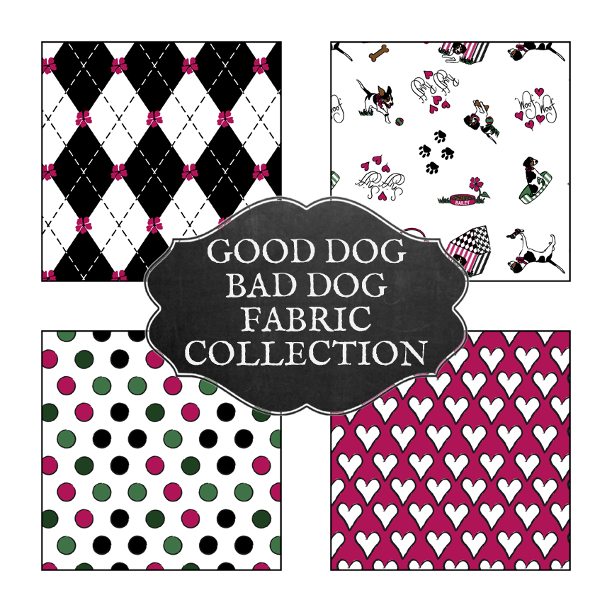 GoodDogBadDogFabricCollection