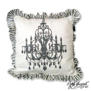 JBalyeat Chandelier Pillow