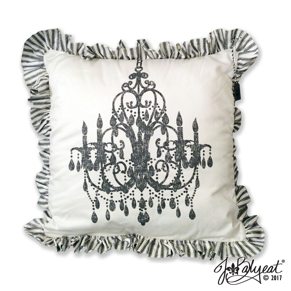JBalyeat Chandelier Pillow