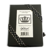Crown Note Cards Box Back