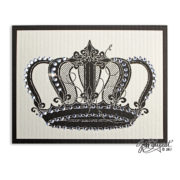 Jeweled Crown Note Card