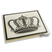Jeweled Crown Note Card Box