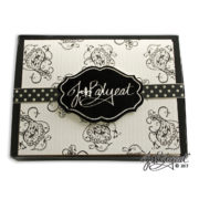 Paisley Note Cards Box