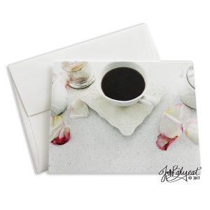 Single Coffee Break Note Card With Envelope