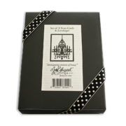 Chandelier Note Cards Box Back