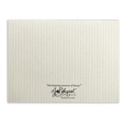 Note Card Back Horizontal