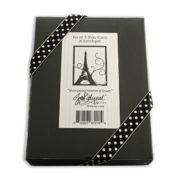 Paris Note Cards Box Back