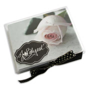 Rose Note Cards Box