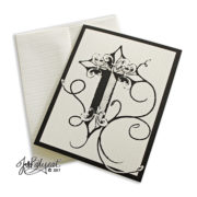 Single Cross Note Card Inspirational Card With Envelope