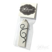 Flocked Gift Tags Package