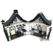 Custom Lego House Model Back