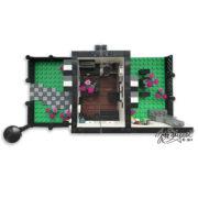 Custom Lego House Model Top View
