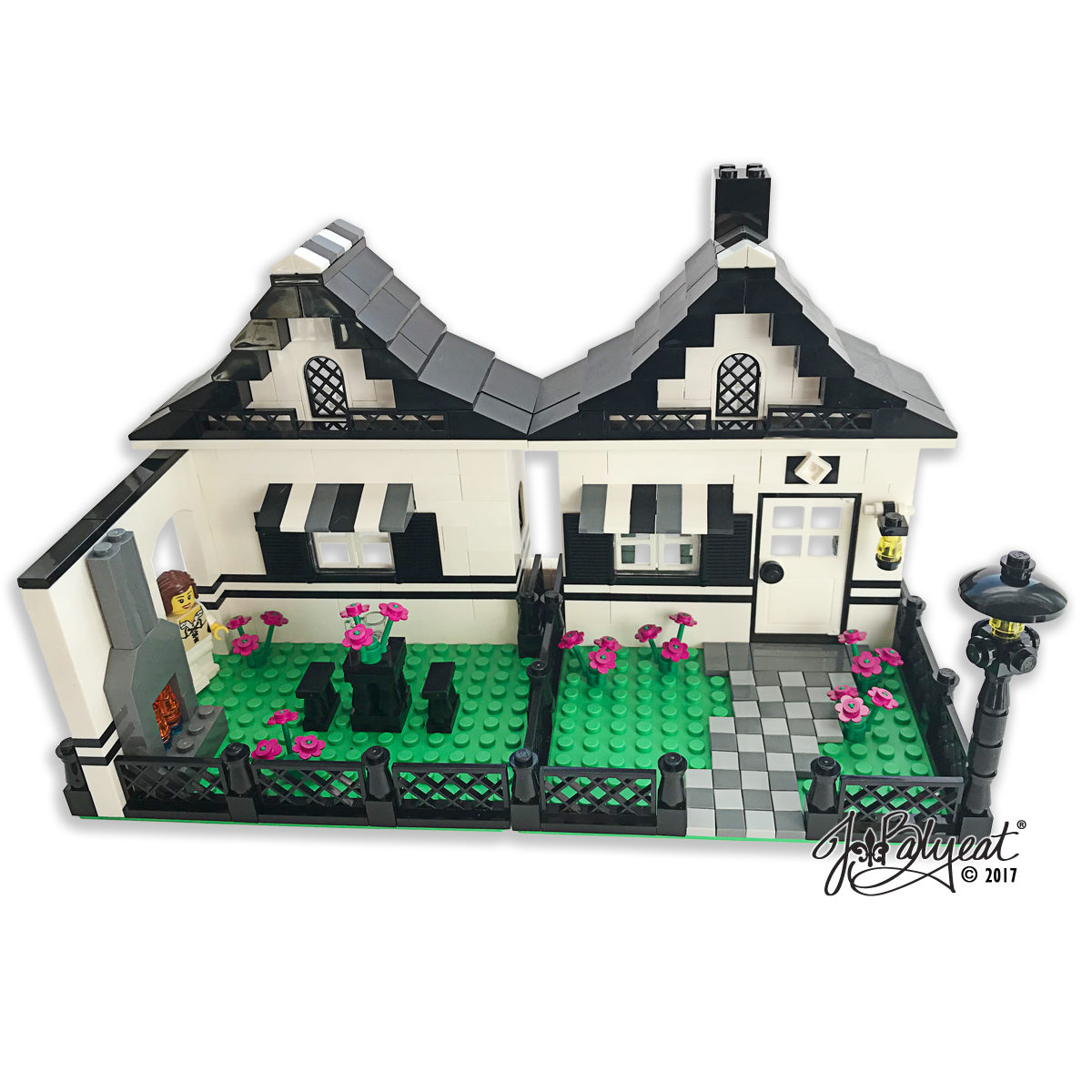 Custom-Lego-House-Model