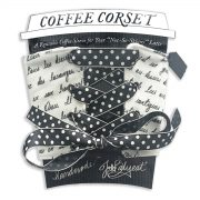 Coffee Corset French Script Packaging