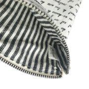 Inner Detail of French Script Zipper Pocket
